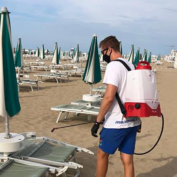 SanyBeach sanificazione spiagge